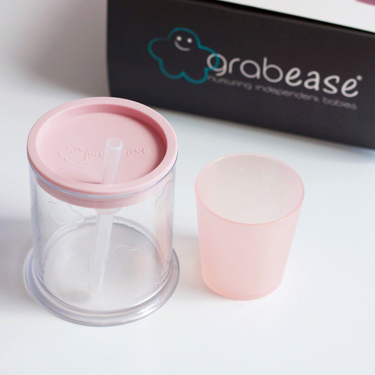 tasse verre bébé paille